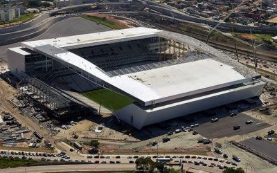 A arena Corinthians utilizou concreto Concreserv