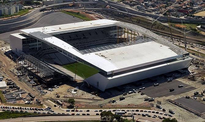 Arena Corinthians utiliza concreto Concreserv