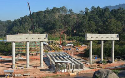 Concreto para a construção do Rodoanel Mario Covas